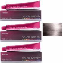 3x Coloração Amend Color Intensy 0.1 Cinza Intensificador