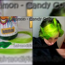 Tintas Coloridas P/cabelos Lemmon Candy Color