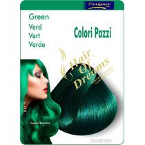 Tinta Green Verde Designer Color Tec Italy - Colori Pazzi