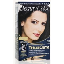 Tintura Beauty Color Kit Completo Bisnaga 50g -várias Cores