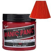 Manic Panic Electric Lava - Usa Pronta Entrega