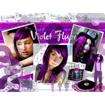 Violet Flúor - Exotic Colors Criativ