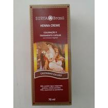 Henna Surya Creme Castanho Escuro