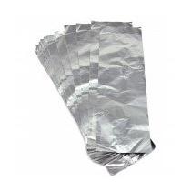 Fardo 1kg Papel Alumínio P Mechas Aproximadamente 200 Folhas