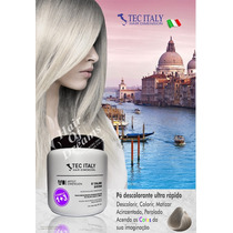 Tec Italy Po Descolorante 1+3 Azul Ultra Rápido - Importado
