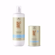 Kit Blondme Descolorante Lift +9 450gr + Developer 1000ml