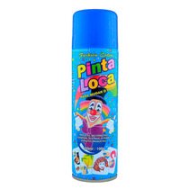 Tinta Pinta Loca - Spray 150ml - Decorativo - Cor Azul Flash