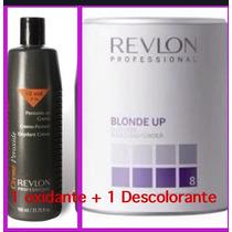 Descolorante Blond Up Revlon +1 Oxidante Revlon.kit Po E Ox