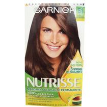 Coloração Garnier Nutrisse 51 Castanho Exuberante