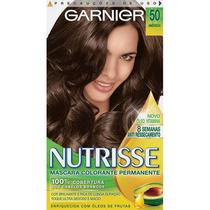 Coloração Garnier Nutrisse 50 Amêndoa