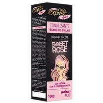 Kit Tonalizante Color Express Fun Salon Line Sweet Rose 100g