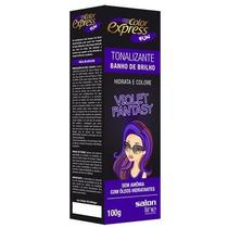 Kit Tonalizante Color Express Fun Salon Line Violet Fantasy