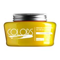Fine Professional Colors Máscara Manutenção Amarelo Ouro
