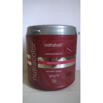 Pó Descolore E Colore - Nutra Hair 100g + Brinde