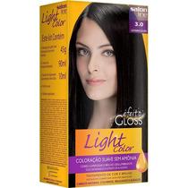 Tintura Semi-permanente Light Color 3.0 Castanho Escuro