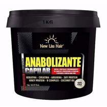 Anabolizante Capilar New Liss Hair Sem Formol Original 1kg