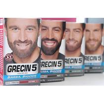 4 Tintura Grecin Color Gel Para Barba E Bigode