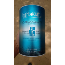 Pó Descolorante Blue Hair Beauty Duste Free 500g