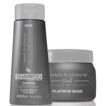 Kaedo Shampoo E Máscara Nano Platinum