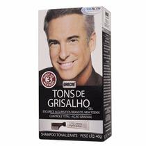 Grecin Tons De Grisalho Shampoo Tonalizante Em Gel 40g