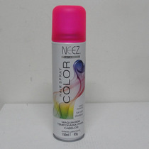 Neez Spray Colorido Rosa Para Cabelos 150 Ml Temporaria