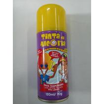 Tinta Spray P/ Cabelo Temporária - Imã Aerossóis - Amarela