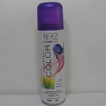 Neez Spray Colorido Violeta Para Cabelos 120 Ml Temporaria