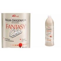 Agua Oxigenada 40 Volumes Fantasy Color Botanica 1litro