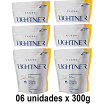 Kit Descolorante Lightner Germen Trigo Refil 300g - 06 Unid.