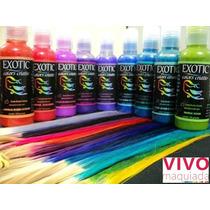 Exotic Colors Tinta Colorida Para Os Cabelos Cosplay
