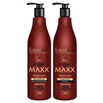 Forever Liss Maxx Escova Progressiva Ingel Kit 2x1000ml