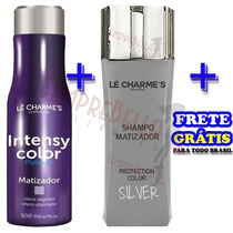 Intensy Color Máscara 500ml + Shampoo Matizador Silver