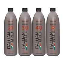 Água Oxigenada Itallian Color Em 04 Diferentes Volumes 1 L