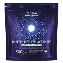 Loreal Infinie Platine Pró-queratina Descolorante 500g