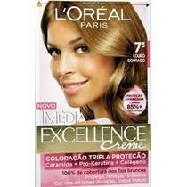 Coloração Loréal Imédia Excellence 7.3 Louro Dourado
