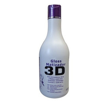 Magic Color Gloss Matizador 3d Platinum Branco 550ml +brinde