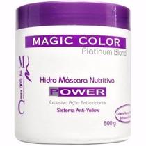 Hidro Máscara Nutritiva Power Anti-yellow 500g Magic Color