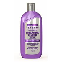 Shampoo E Condicionador Desamarelador Gota Dourada 300ml