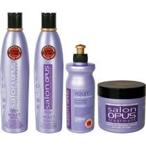 Kit Salon Opus Desamarelador Violet