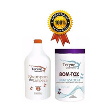 Teryne Botox Capilar Matizador Platinum Blond 1kg+shampoo