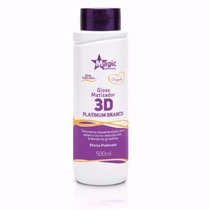 Magic Color Desamarelador- Gloss 3d Platinum Branco 550ml