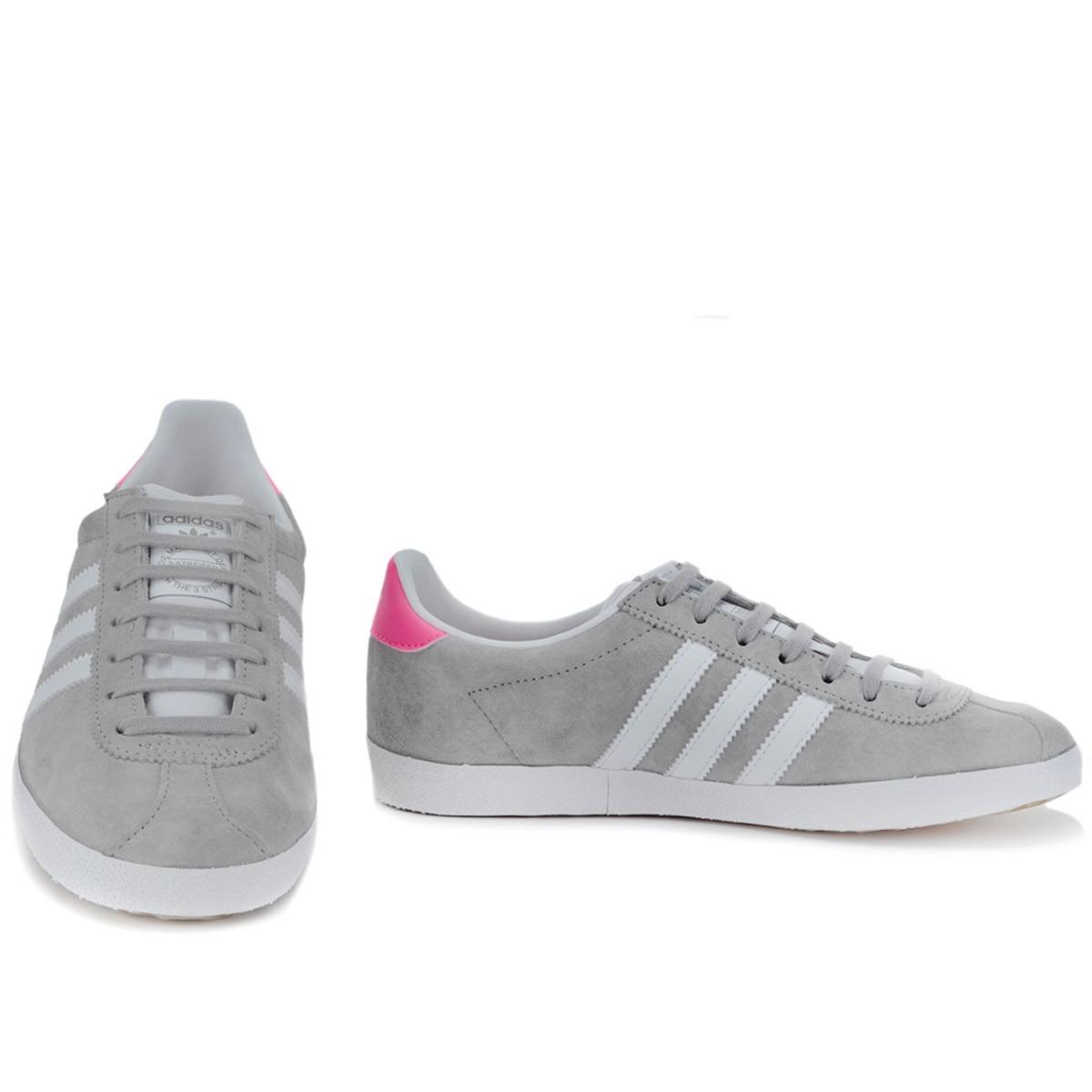 adidas gazelle og cinza e rosa