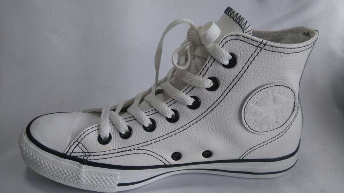 b04bed013 all star couro converse cano alto - Akileos