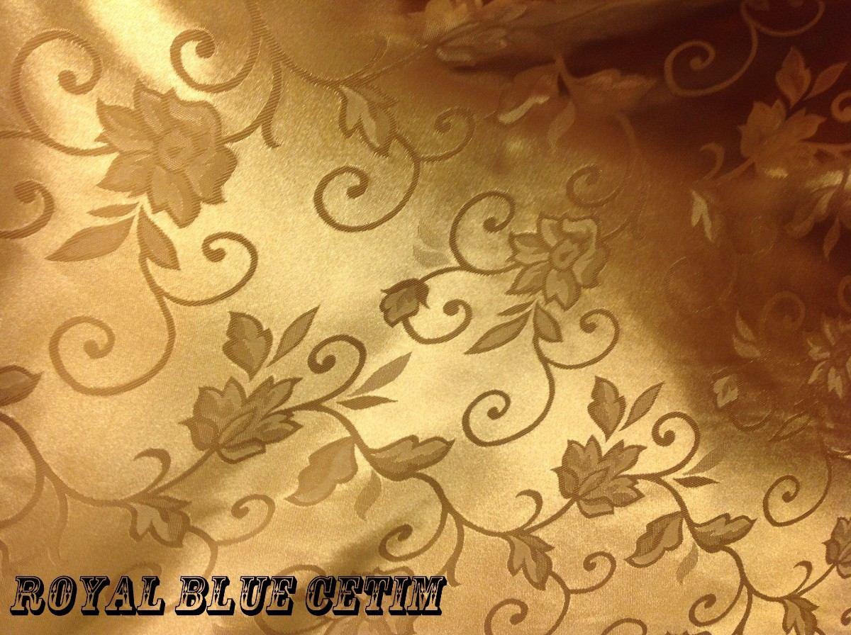Toalha De Mesa Em Cetim Jacquard 1 40x2 00m R$ 59 96 no MercadoLivre #C4BF07 1200x896