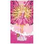 Toalha De Banho / Praia Aveludada Barbie Butterfly - Lepper