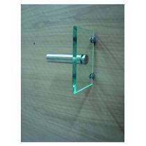 Porta Papel Higiênico 10x15 De Vidro Incolor Lapidado 10mm