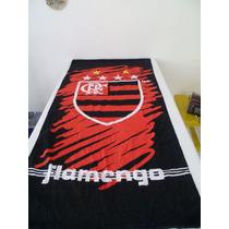 Toalhas De Times 100% Algodao. Flamengo