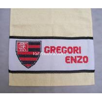 Toalha Lavabo Personalizada Flamengo