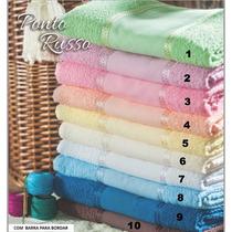 Toalhas P/bordar Ponto Russo 02 Banho + 02 Rosto