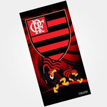Toalha De Banho E Praia Aveludada Mascote Flamengo Buettner